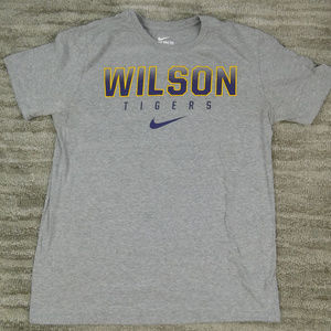 Wilson Tigers Nike T-Shirt Athletic Cut size Large